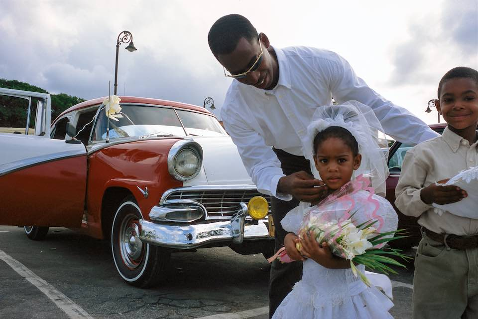 Flower girl, Old Havana, 1999