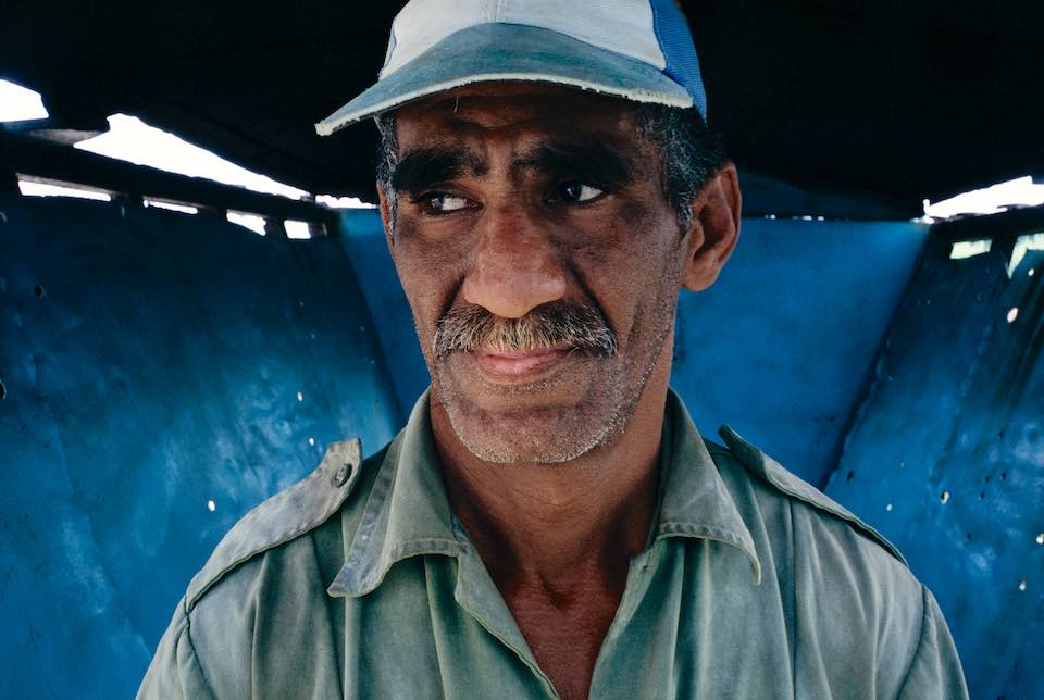 Cane worker, Habana Libre, 2001