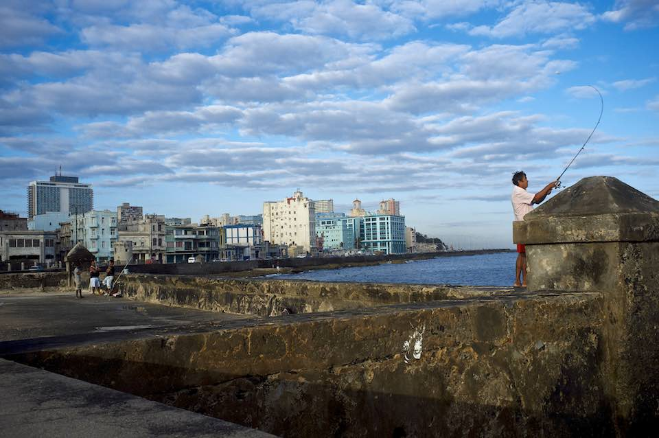 The Malecon, Havana, 2013