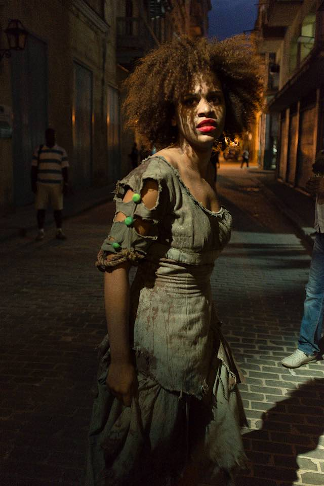 Actress, Old Havana, 2015